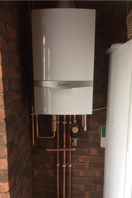 install of Vaillant Ecotec plus 832 in Burgess hill