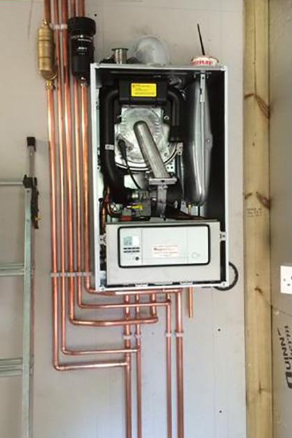 Install of Vaillant Ecotec Pro28 in Guilford